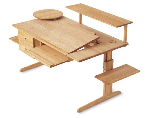 schreibtischsystem team 7 varion by wohnen leben fleischmann. Black Bedroom Furniture Sets. Home Design Ideas
